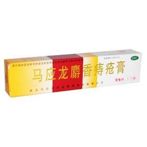 馬應龍麝香痔瘡膏 (豆瓣)