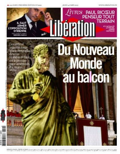 Libération Jeudi 14 Mars 2013