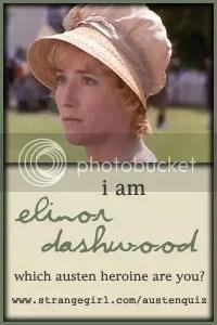 I am Elinor Dashwood!