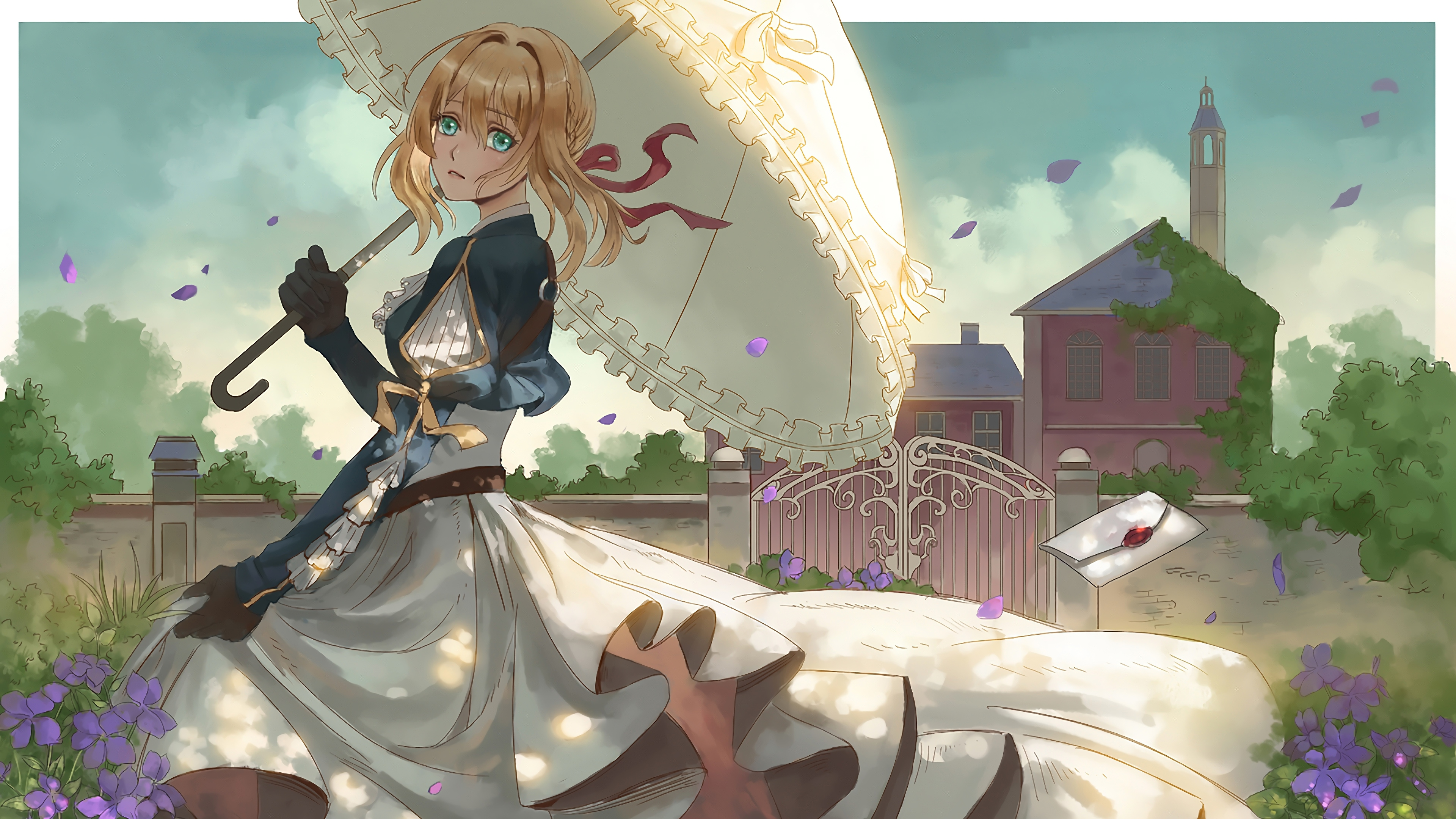 Wallpapers Hd Anime Violet Evergarden 4k 6469