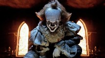 Movie 2017 Pennywise Red Balloon Scary Clown 4k #6257