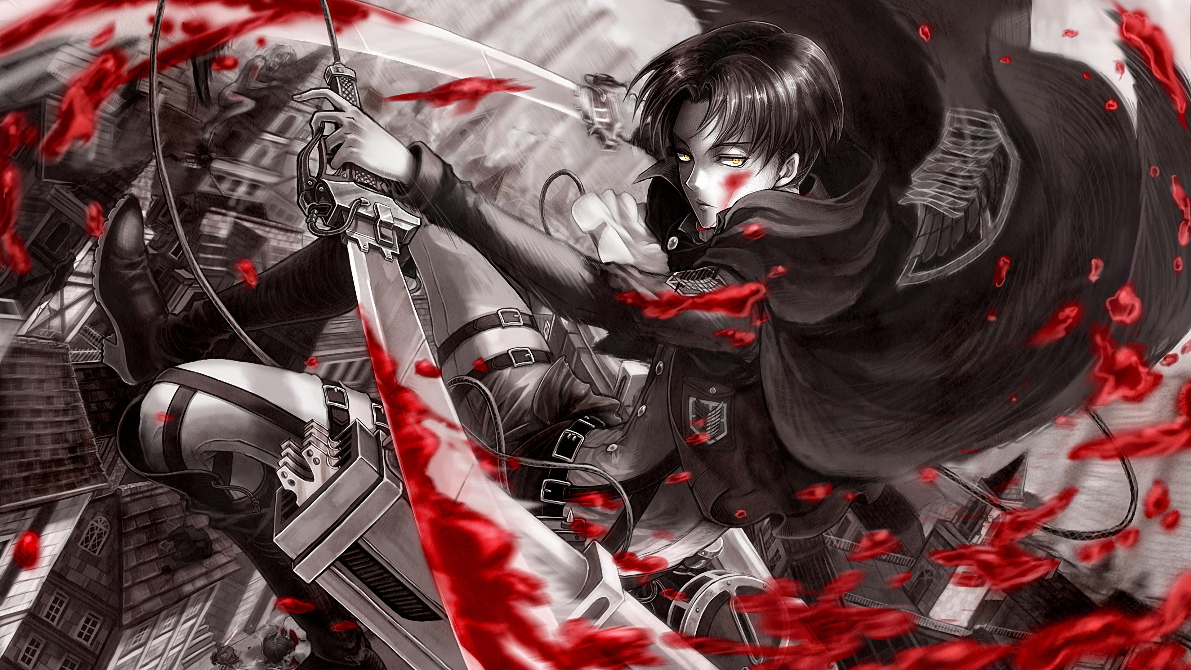 Get ready to defend shiganshina! Attack on Titan (Shingeki no Kyojin) 4K 8K HD Wallpaper