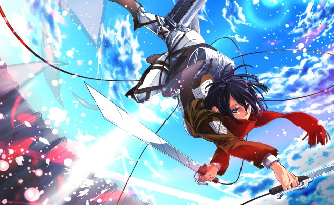 Shingeki No Kyojin Mikasa Ackerman Wallpapers Hd Cute766