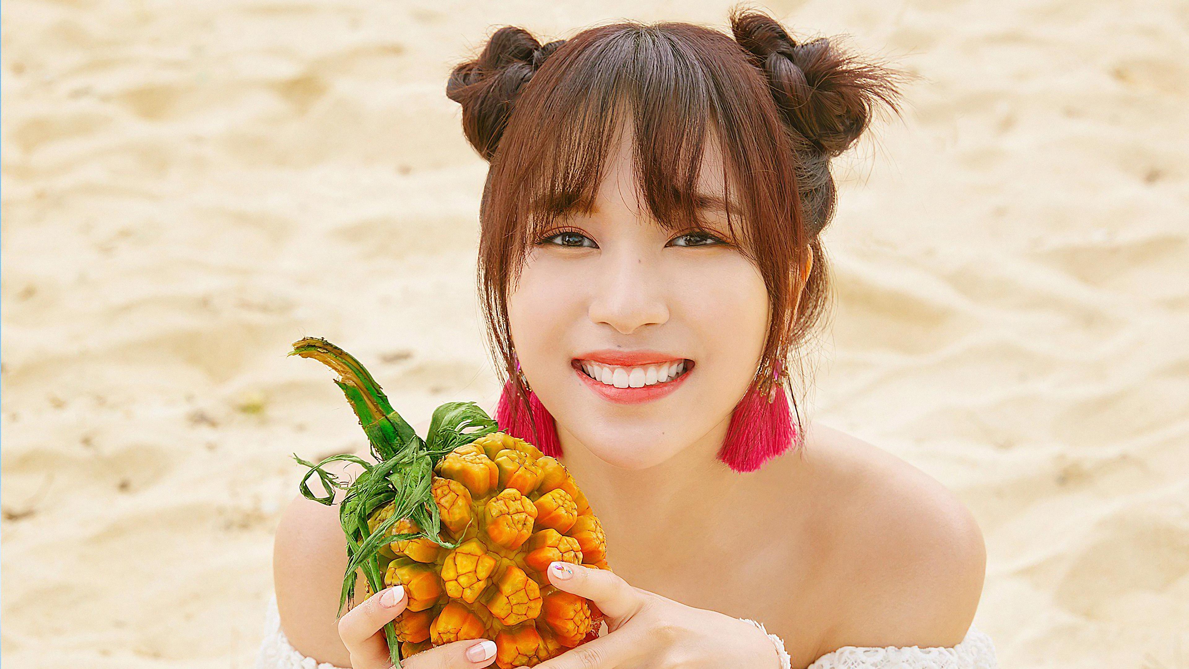 Background Hd Wallpaper Girl Mina Twice Summer Nights 4k 17345