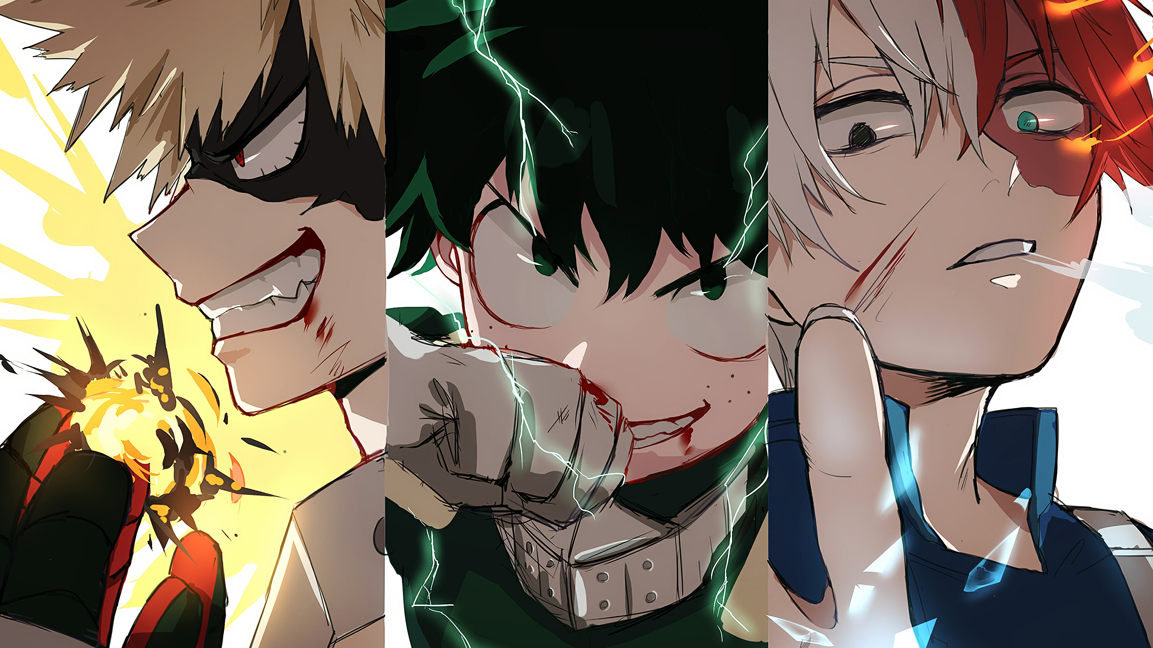 See the handpicked my hero academia wallpaper deku images and share with your frends and social sites. Boku No Hero Academia Todoroki X Deku - Anime Wallpapers