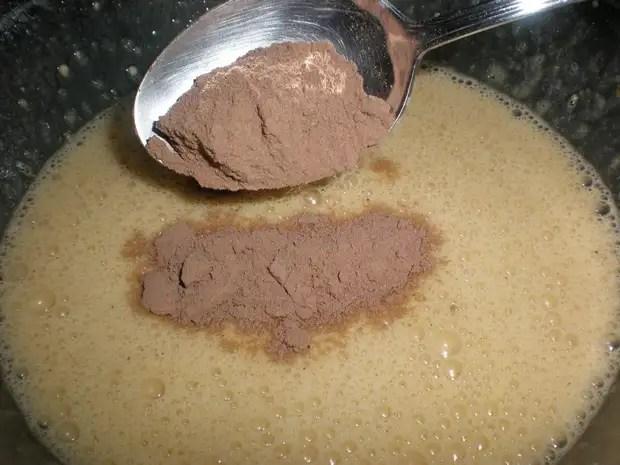 Elaborar los brownies