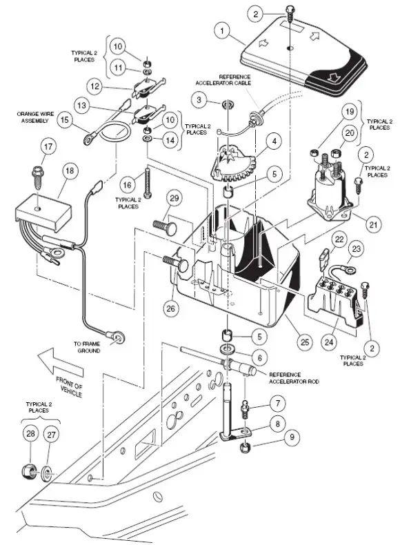club car xrt 850 wiring diagram