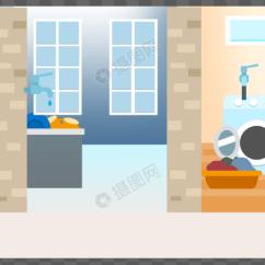 Kitchens And Baths Small Kitchen Buffet 家居 厨房 浴室 洗衣间元素素材png格式 设计素材免费下载 Vrf高清图片 洗衣间图片