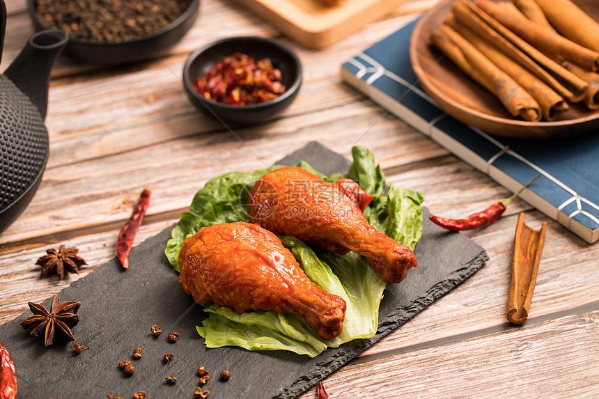 美味鹵味雞腿高清圖片下載-正版圖片501234662-攝圖網