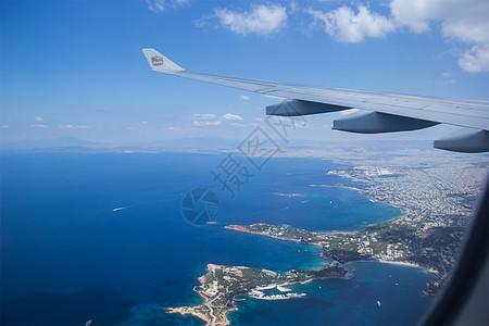飛機上的日出高清圖片下載-正版圖片500394644-攝圖網