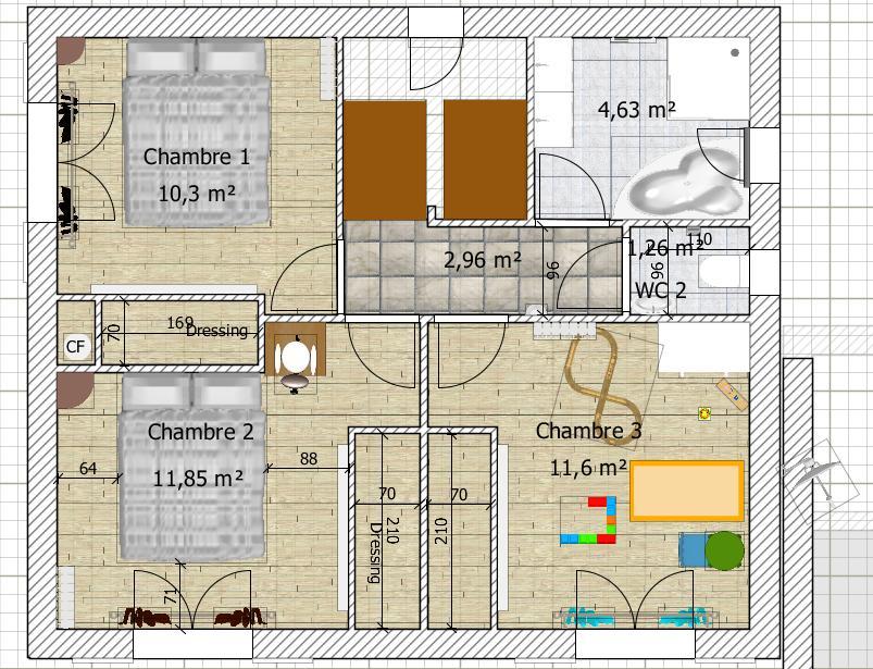 Besoin Davis Sur Plan De Maison De 9020 M2 En R1 76