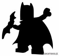 LEGO BATMAN naklejka tablicowa, folia kredowa - pokj ...