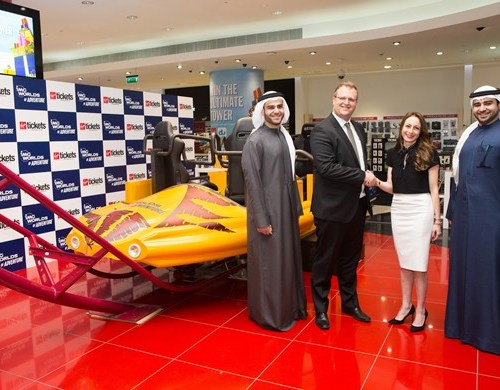 IMG Worlds of Adventure Partners With  Virgin Megastore for Online and In-store Ticket Sales