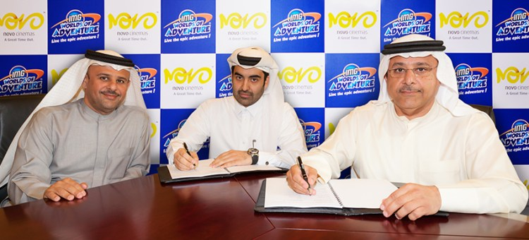 Novo Cinemas signs agreement with IMG Worlds of Adventure