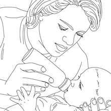 طفل : صفحة تلوين, رسوم للأطفال, ألعاب مجّانيّة للأطفال