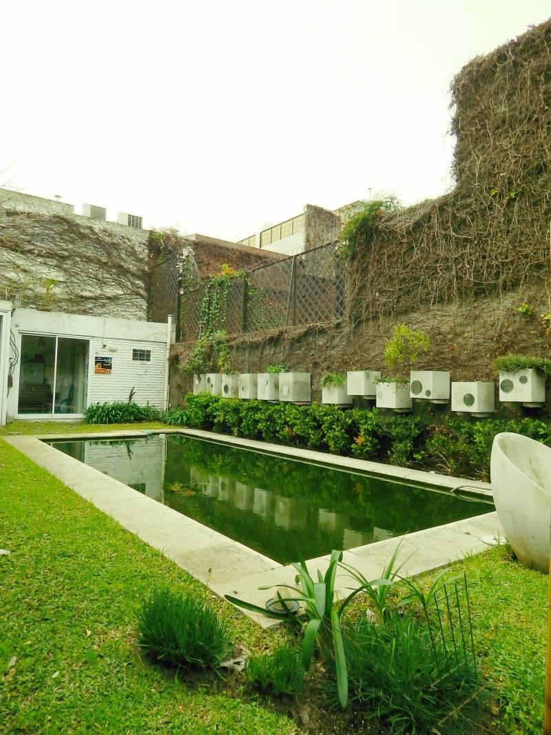 Casa con Piscina Jardin y Quincho con Parrilla  Bajo Belgrano  Alquiler Capital Federal