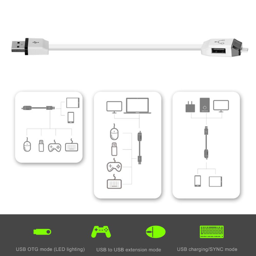 hight resolution of usb to micro otg function multifunctional smart f118 y cable