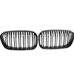 gloss black front kidney grill grille for bmw f20 f21 1 series 15 17 bmw f20 f21 1 series front power distribution fuse board box and case [ 1200 x 1200 Pixel ]