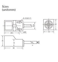 sn04 n 5mm inductive proximity sensor test switch approach npn no dc10 30v [ 1200 x 1200 Pixel ]