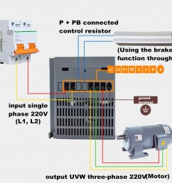 2 2kw 3ph 380v vfd inverter vfd drive variable frequency drive for on vfd s converting motor vfd wiring diagram  [ 1200 x 1200 Pixel ]