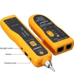 elegiant jw 360 line finder telephone phone rj45 rj11 cat5 cat6 wire tracker ethernet lan [ 1200 x 1200 Pixel ]