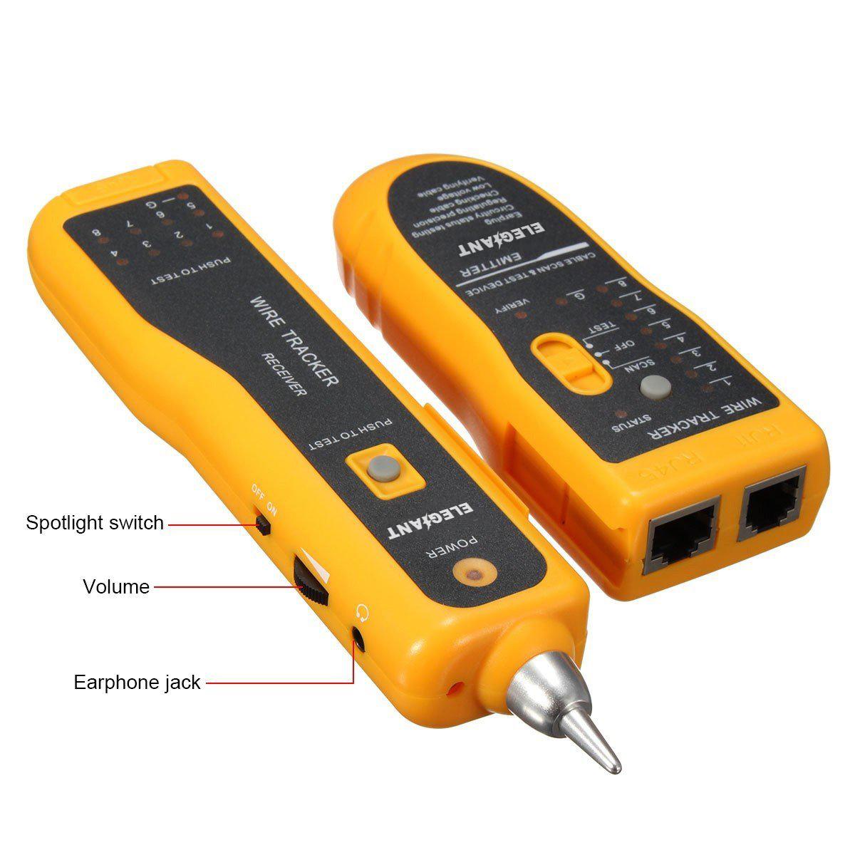 hight resolution of elegiant jw 360 line finder telephone phone rj45 rj11 cat5 cat6 wire tracker ethernet lan