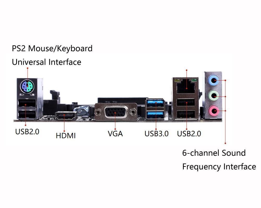 Colorful® h310m-e v21 intel h310 chip m-atx motherboard