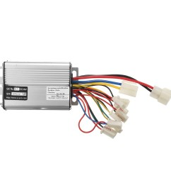 36v 1000w electric scooter motor brush speed controller for vehicle bicycle bike [ 1200 x 1200 Pixel ]