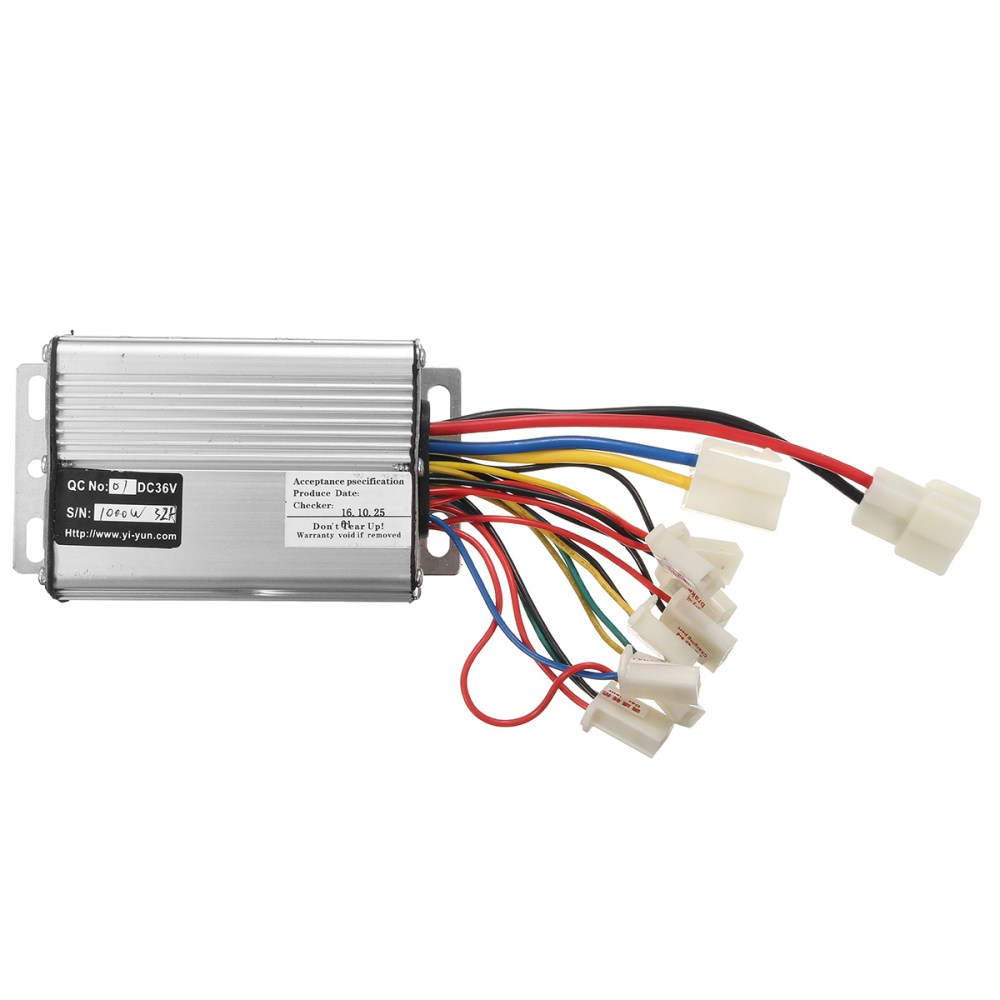 medium resolution of 36v 1000w electric scooter motor brush speed controller for vehicle bicycle bike