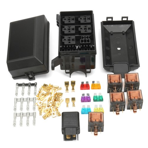 small resolution of fuse box auto 6 relay block holders 5 road fit for car trunk atv mix fuse