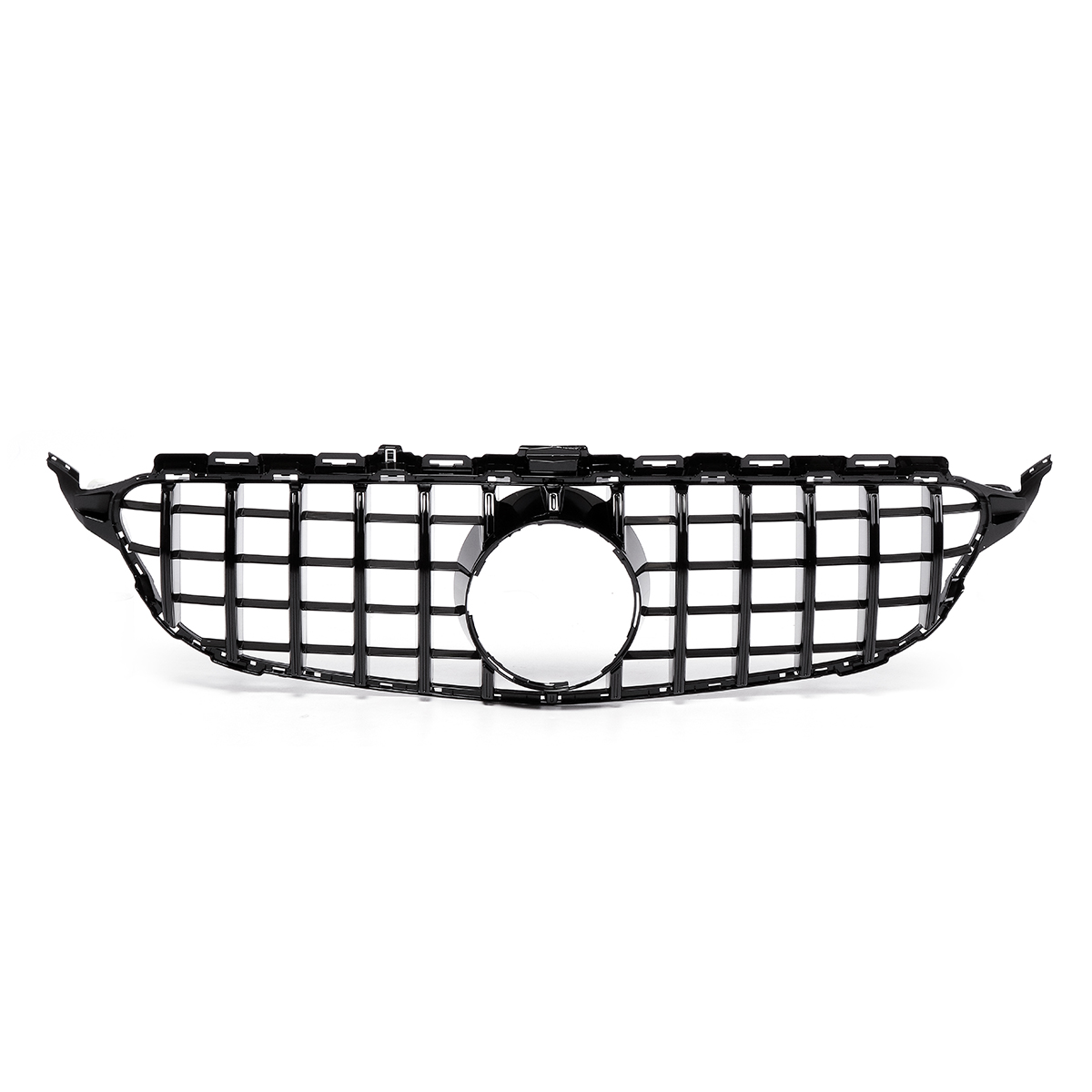 Glossy black upper grille for 2015-2018 mercedes benz w205
