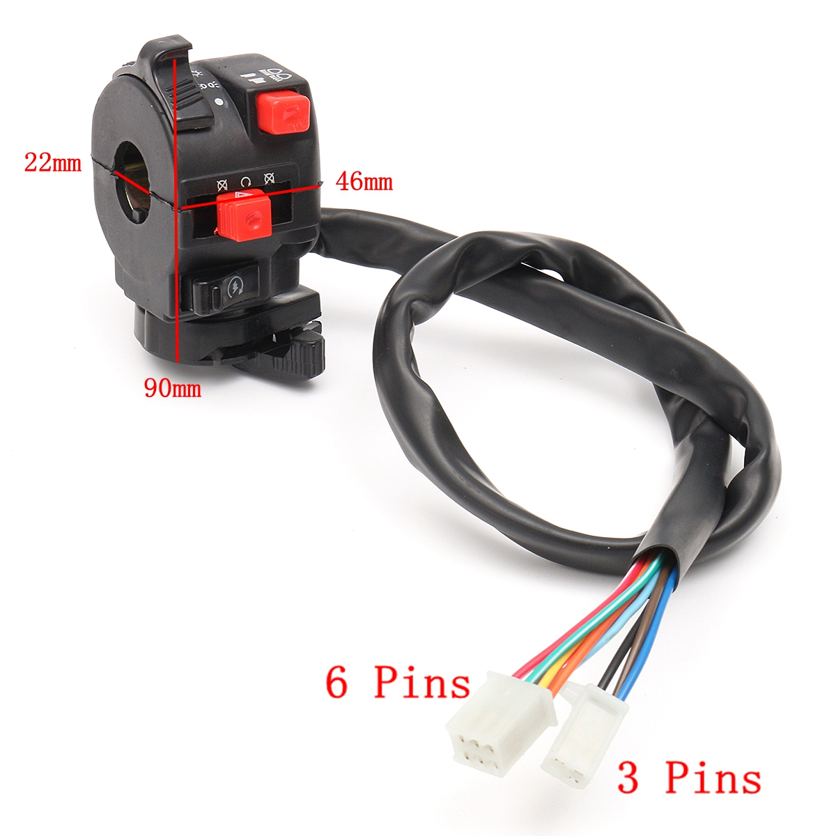 hight resolution of 150cc 200cc 250cc wiring harness loom solenoid coil regulator cdi for atv quad bike