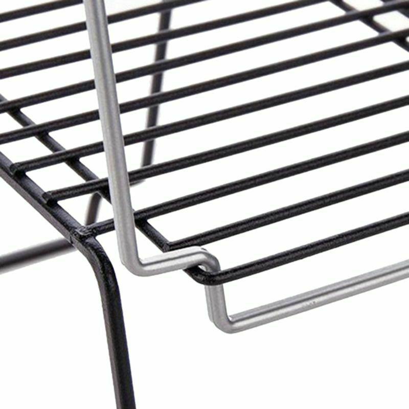 1 Tier Corner Shelf Kitchen Cabinet Storage Stackable