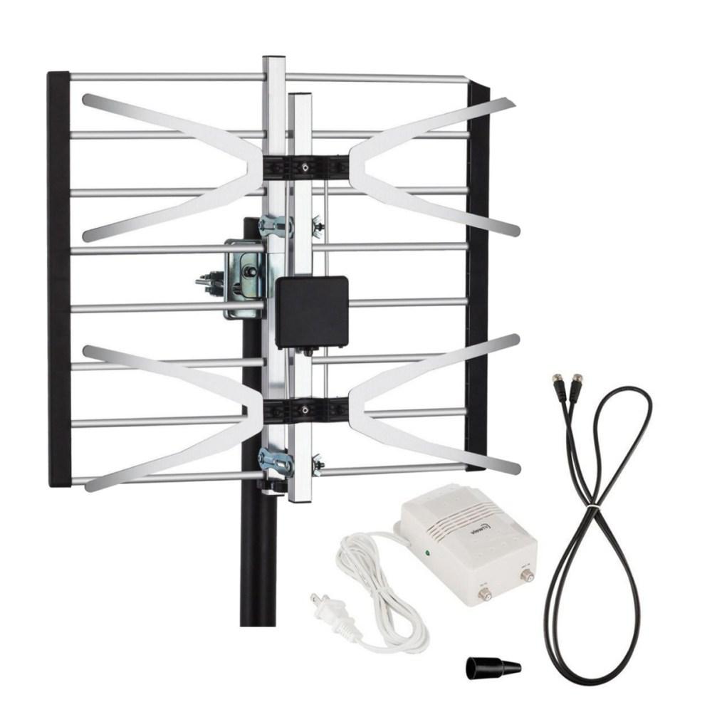 medium resolution of yehfly tlpa16b 120 miles digital amplified signal tv aerial antenna