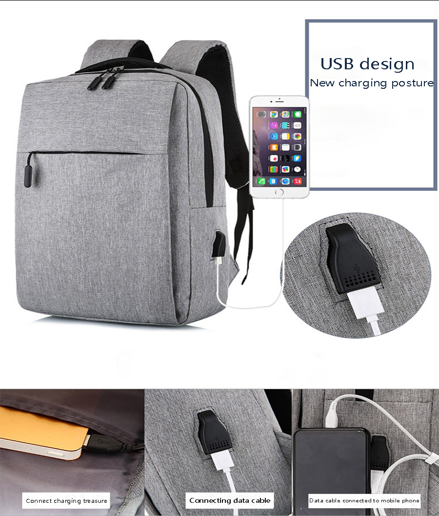 Mi Backpack Classic Business Backpacks 17L Capacity Students Laptop Bag Men Women Bags For 15-inch Laptop 16