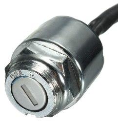ignition barrel key switch 2 keys 4 pin block connector for atv mini moto dirt bike [ 1200 x 1200 Pixel ]