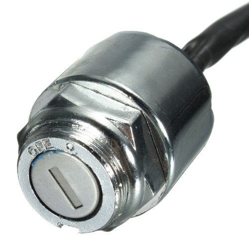 small resolution of ignition barrel key switch 2 keys 4 pin block connector for atv mini moto dirt bike