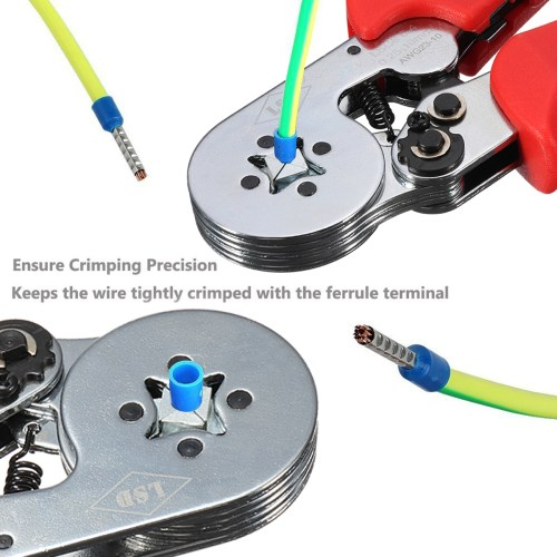 small resolution of 0 25 10mm2 self adjusting terminal wiring harness crimping plier ratchet tool