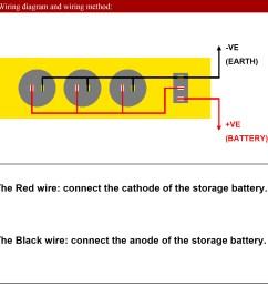 4 in 1 panel circuit breakers switch digital voltmeter dual usb charger 12v socket [ 1500 x 1500 Pixel ]