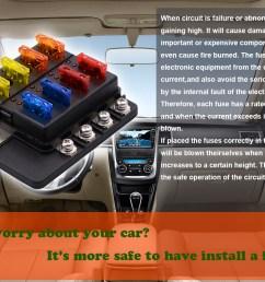 imars 8 way fuse box 12v 32v circuit standard blade block holder kit car caravan [ 1500 x 1000 Pixel ]