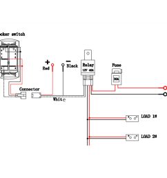 relay wiring with switch and harness wiring diagram schema wiring harness ground relay 12v 40a led [ 1200 x 1200 Pixel ]