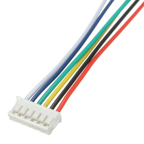 small resolution of excellway mini micro jst 1 5mm zh 6 pin connector plug and wires 6 pin round trailer connector wiring diagram 6 pin wiring connector