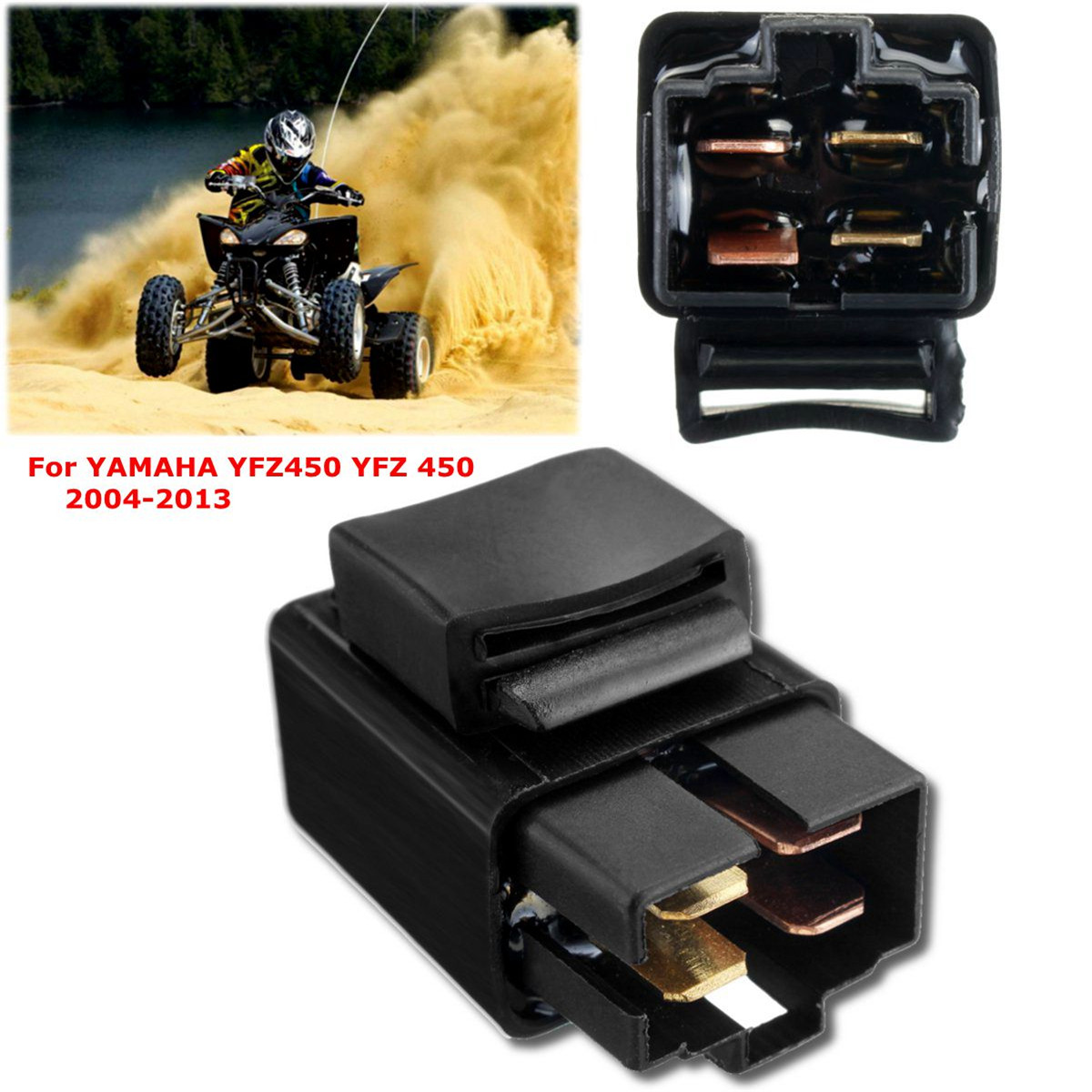 hight resolution of 4pins starter motor relay solenoid for yamaha yfz450 yfz 450 yfz 450 2004 13