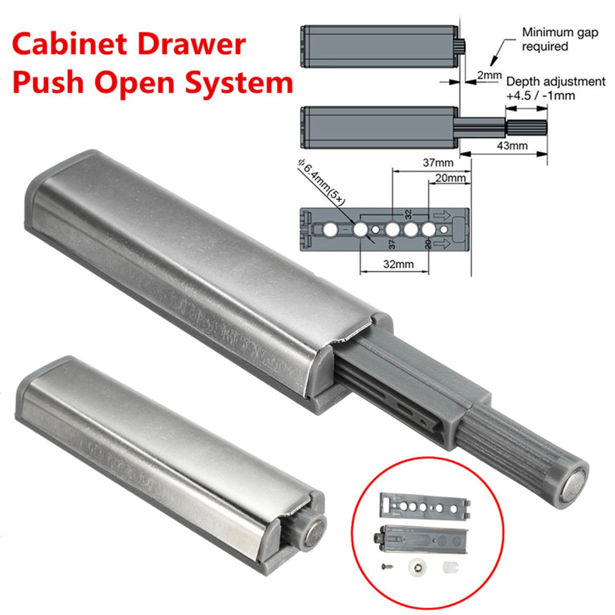 cabinet push open catch