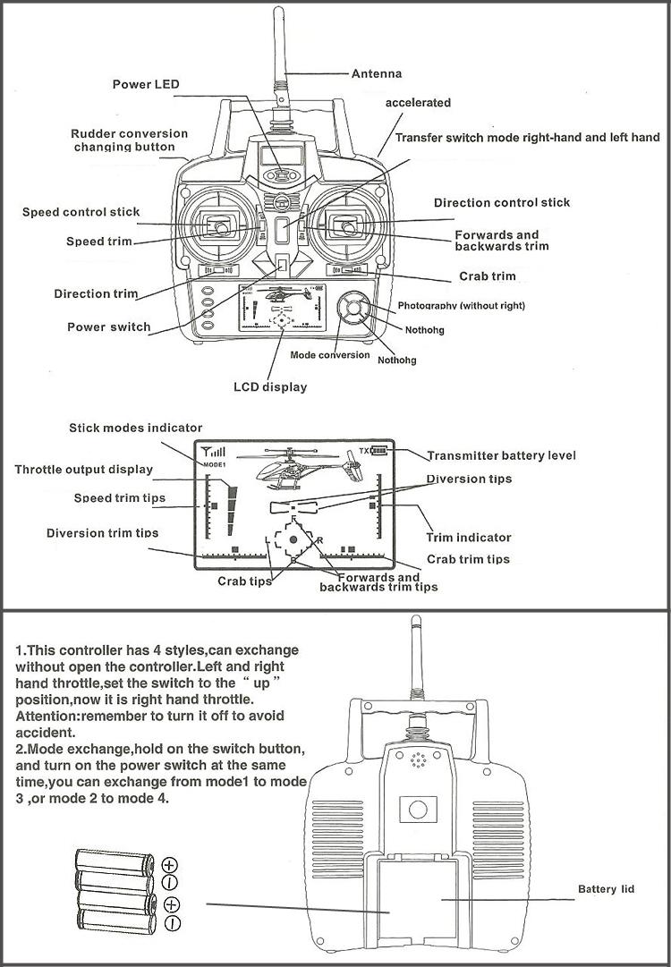 WLtoys V911 V912 V913 V915 4CH RC Helicopter Parts