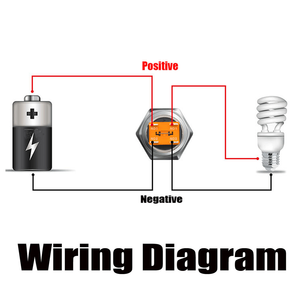 hight resolution of 22mm 12v 24v 15a 3000w metal latching switch angel halo led illuminated power switch