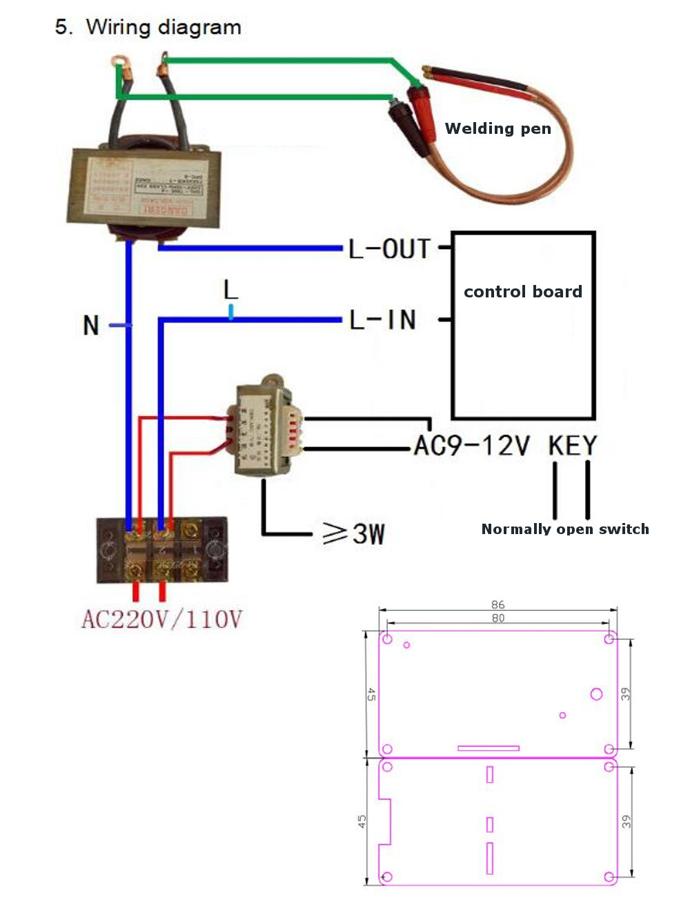 Welding Machine Transformer Wiring   Spot Welding Wiring Diagram      Welding Machines Best Buy
