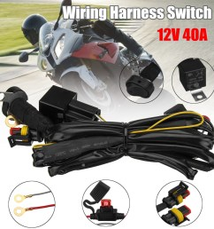 12v wiring harness switch for bmw r1200gs f800gs adv 12v 40a led fog lights  [ 1200 x 1200 Pixel ]