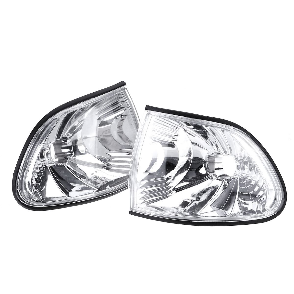 2pcs car parking corner clear lens lights for bmw e38 7