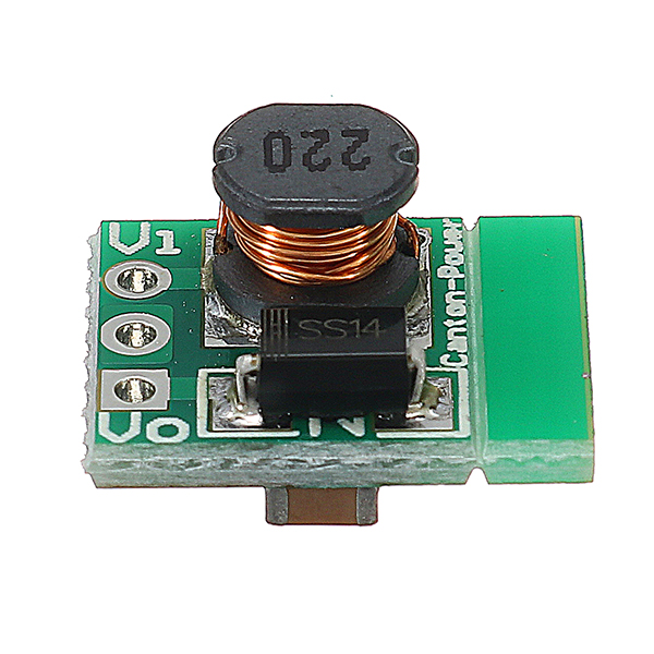 5Pcs 1.5V 1.8V 2.5V 3V 3.7V 4.2V 5V TO 3.3V DC-DC Boost Converter Module Step Up Board